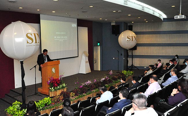 Mr Seah Chin Siong, President and Chief Executive Officer, SIM